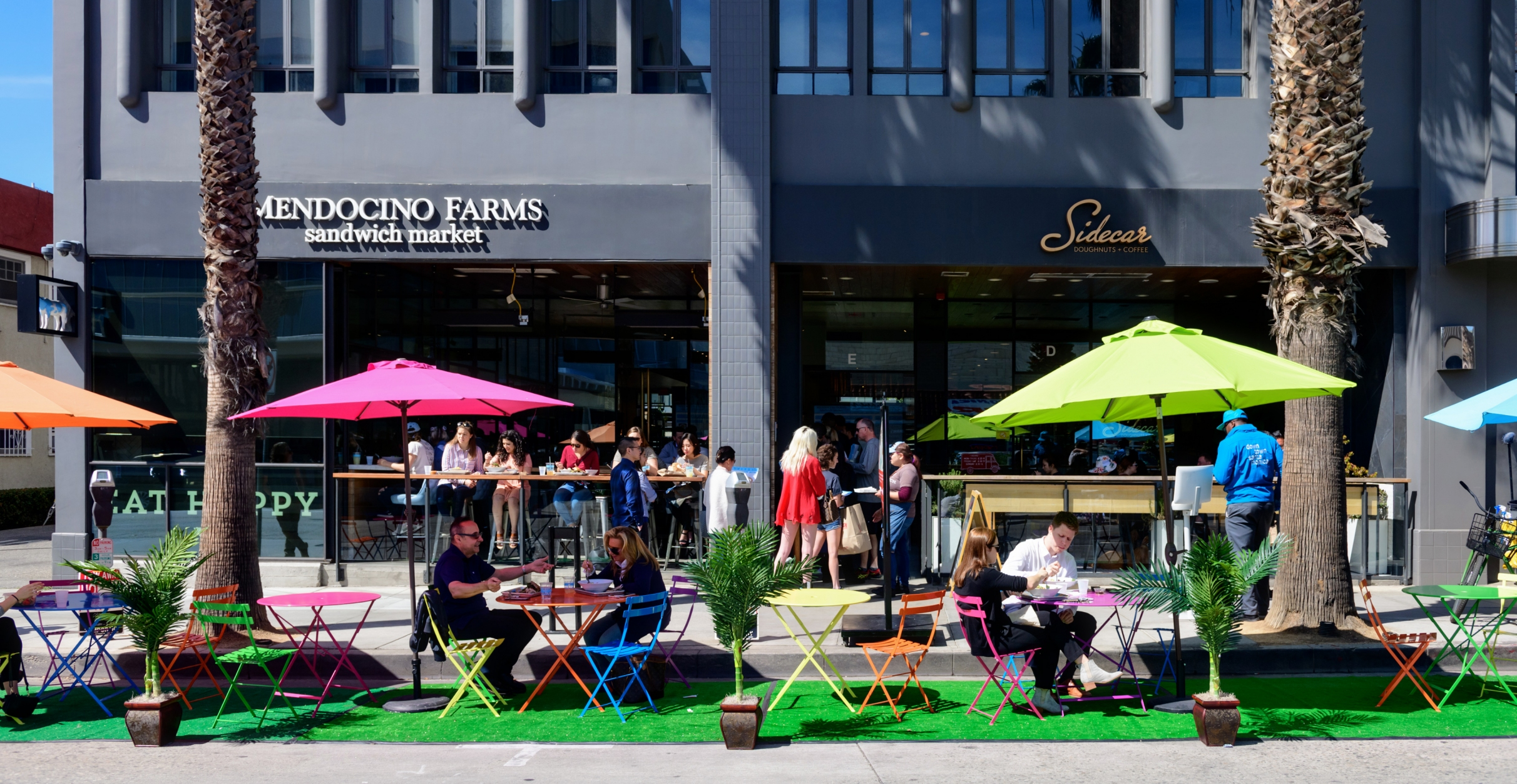 Santa Monica Centric | Downtown Santa Monica hosts Park(ing